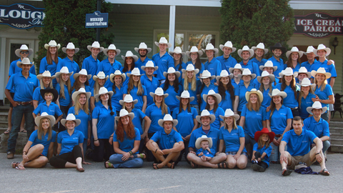 Teen Ranch staff group photo